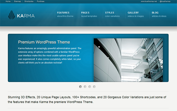Karma WordPress medical theme