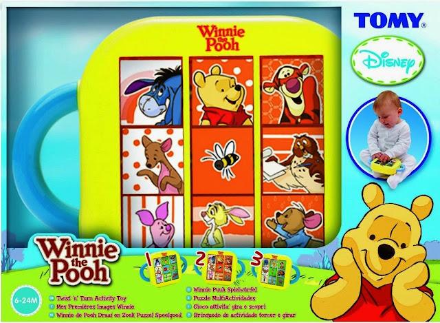 Đồ chơi xoay hình Gấu Pooh và các bạn