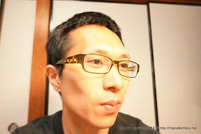新しい眼鏡でスマイルシャッターに挑戦