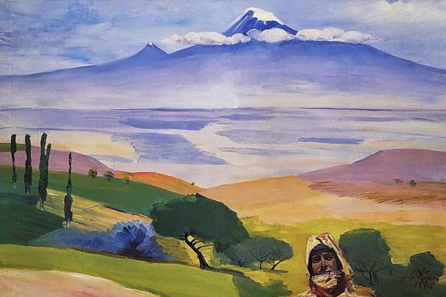 Martiros Saryan - Ararat valley, 1945