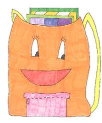 La Mot, la mascota de la biblioteca