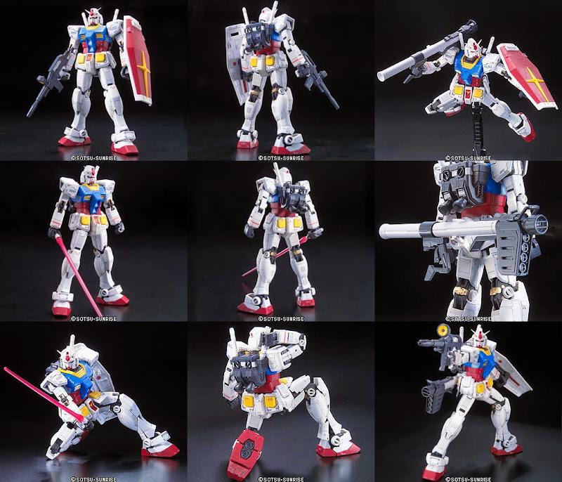 Sáng tạo nên các tư thế sống động cho RX-78-2 Gundam RG 1/144
