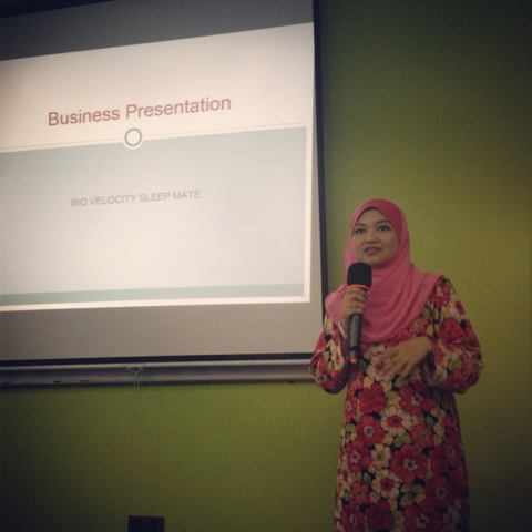 Awesomazing Team speaker Nor Hafizah