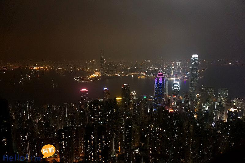 香港太平山夜景-5