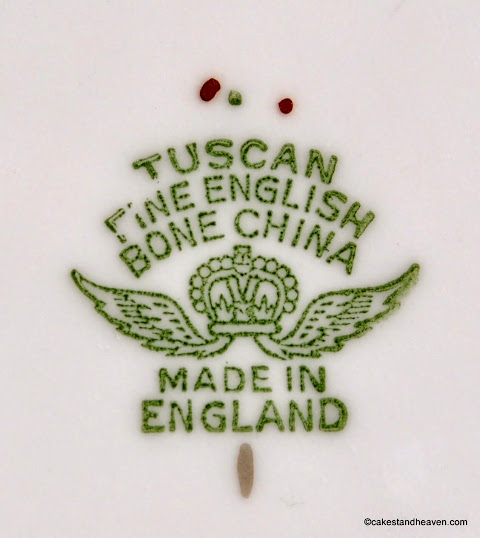 Tuscan backstamp c.1947+