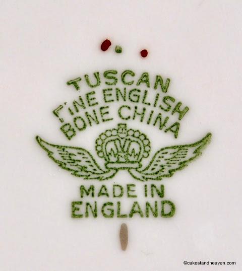 Tuscan backstamp c.1947+