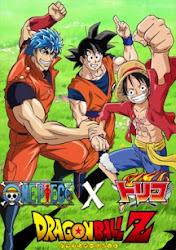 One Piece x Toriko & Dragon Ball Z Crossover