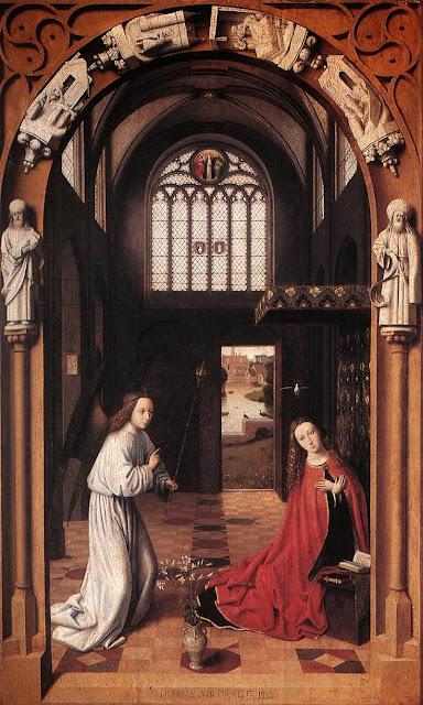 Petrus Christus - Annunciation