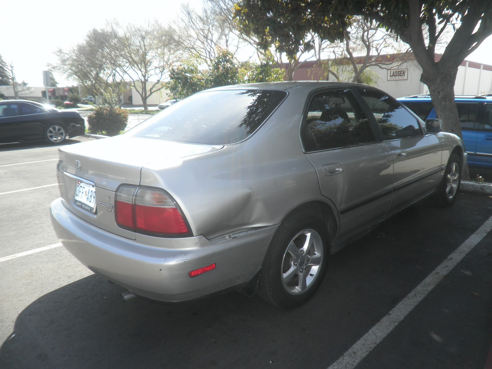 Auto Body-Collision Repair-Car Paint in Fremont-Hayward-Union City-San Francisco Bay: 1996 Honda ...