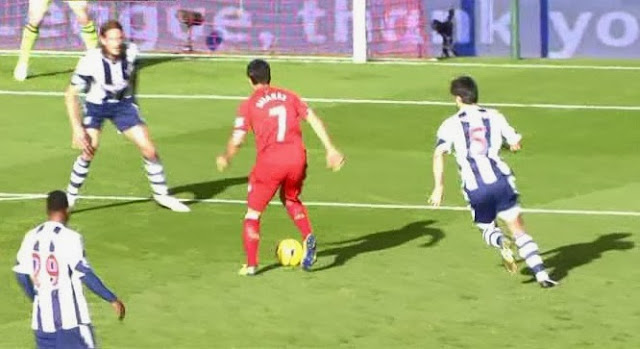 Suarez, Liverpool - West Brom