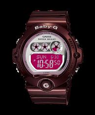Jam Tangan Wanita Warna Pink  Casio Baby G : BGA-190BC-4B