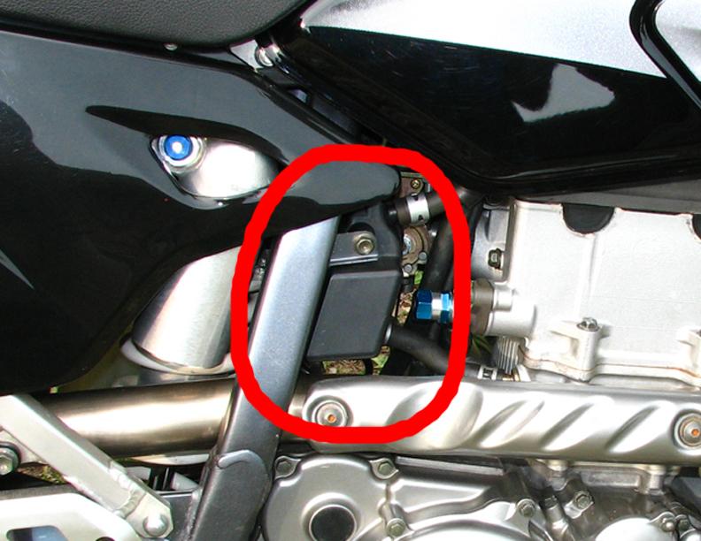 Crankcase Breather Box : DRZ400