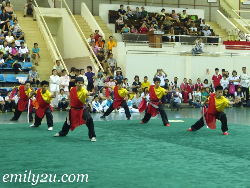 Chin Woo carnival tournament