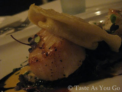 Barnegat Light Diver Scallops at Moshulu in Philadelphia, PA - Photo by Michelle Judd of Taste As You Go