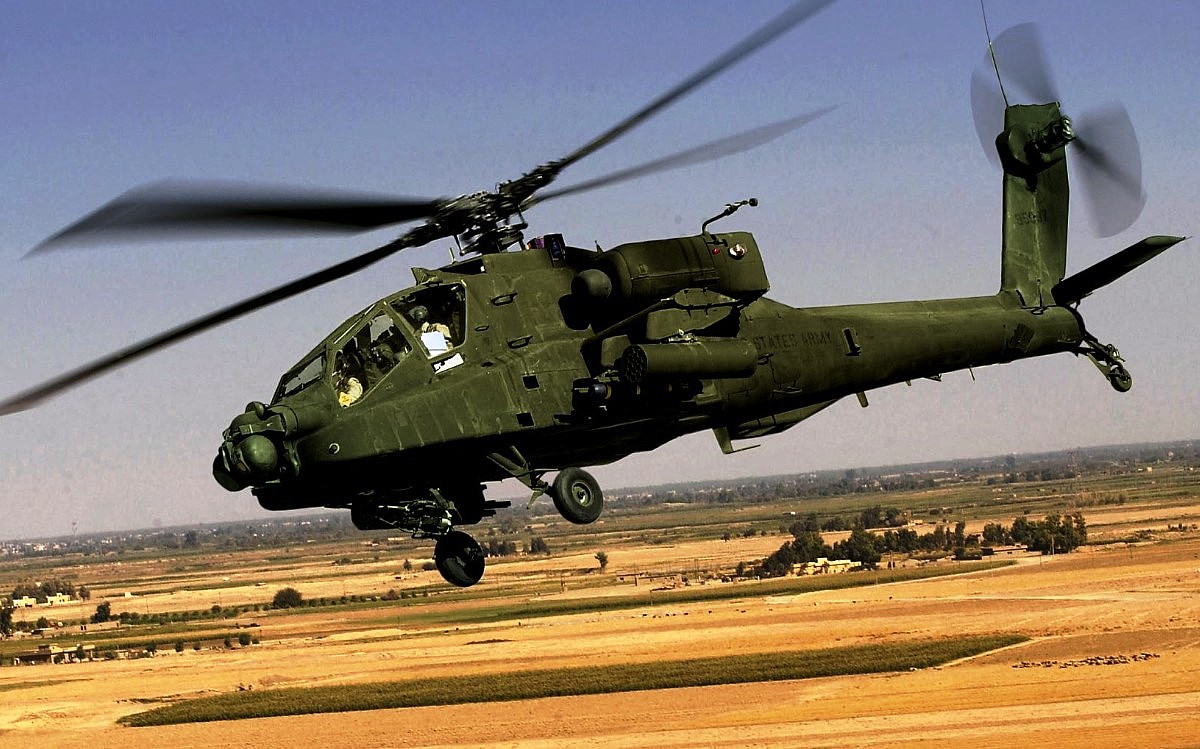 AH-64 Apache Helicopter Wallpaper 2