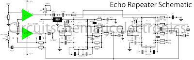 echo repeater schematic