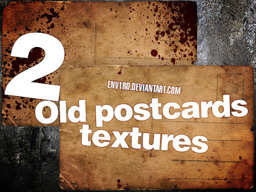 Old Postcards Texture