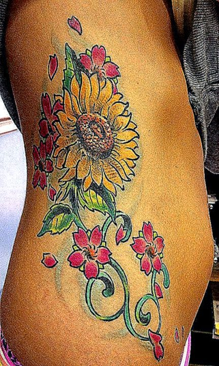 40 Sunflower Tattoo Designs Ideas and Meaning   ExtendCreative