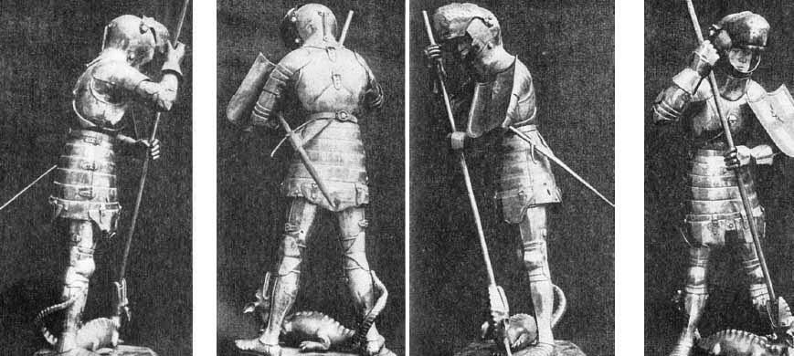 Доспехи рыцарей