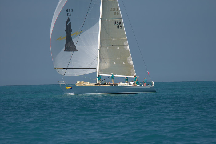 J/44 one-design offshore cruiser racer sailboat