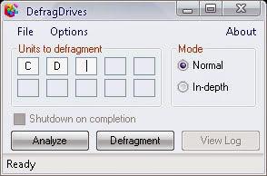 DefragDrives