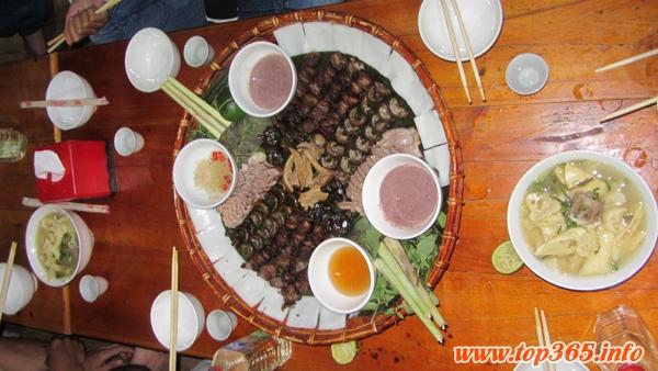 Thịt chó Kỳ Đồng Yên Bái