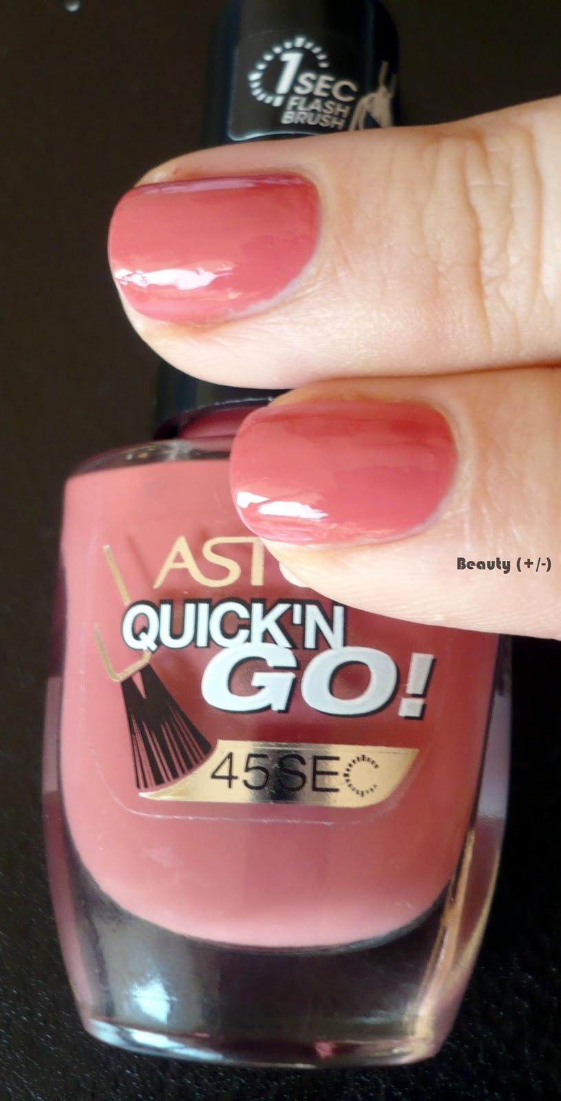 beauty +/-: Astor Nagellack (No.9)