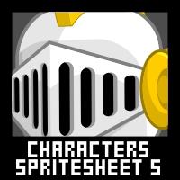 Fantasy Characters Spritesheet