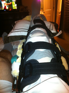how to bring swelling down in knee