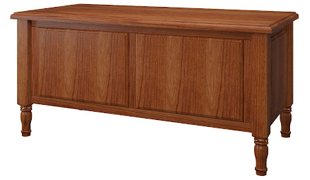 Matching Furniture Piece: Farmhouse Cedar Chest in Cascadia Cherry