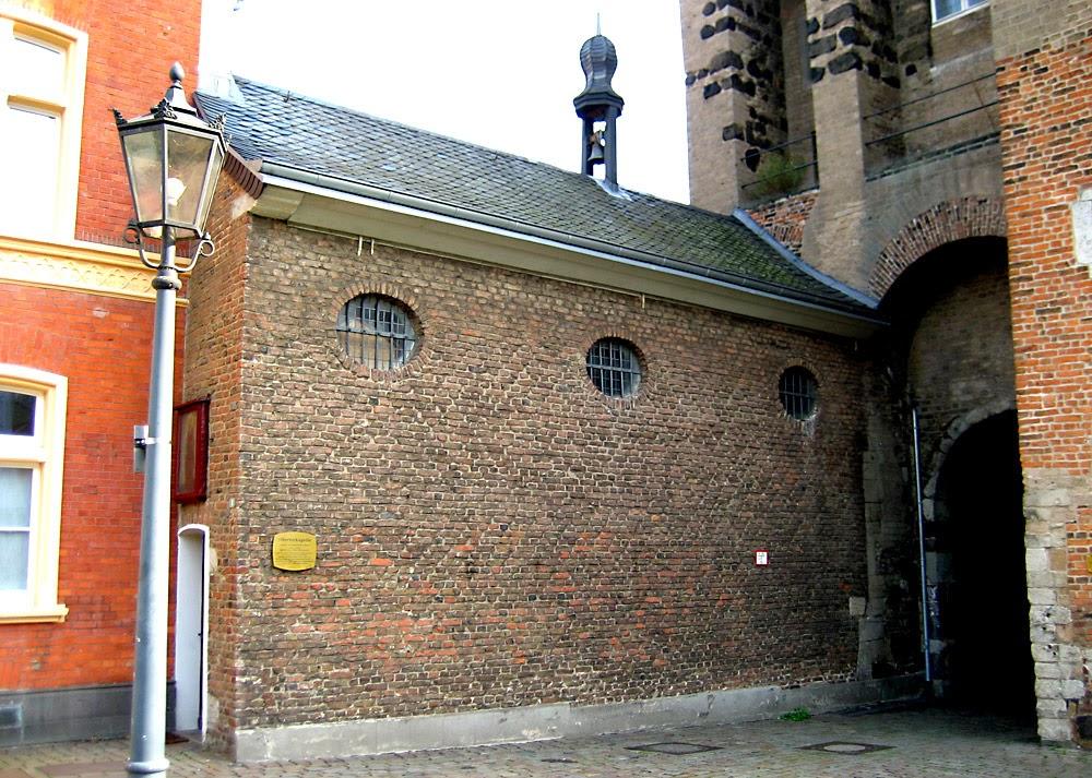 Часовня Восточных врат. Изображение сайта ДЮССЕЛЬДОРФ И ЕГО ОКРЕСТНОСТИ, свободное изображение Википедии