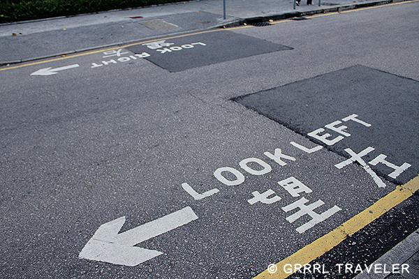 hong kong street signs, hong kong top attractions