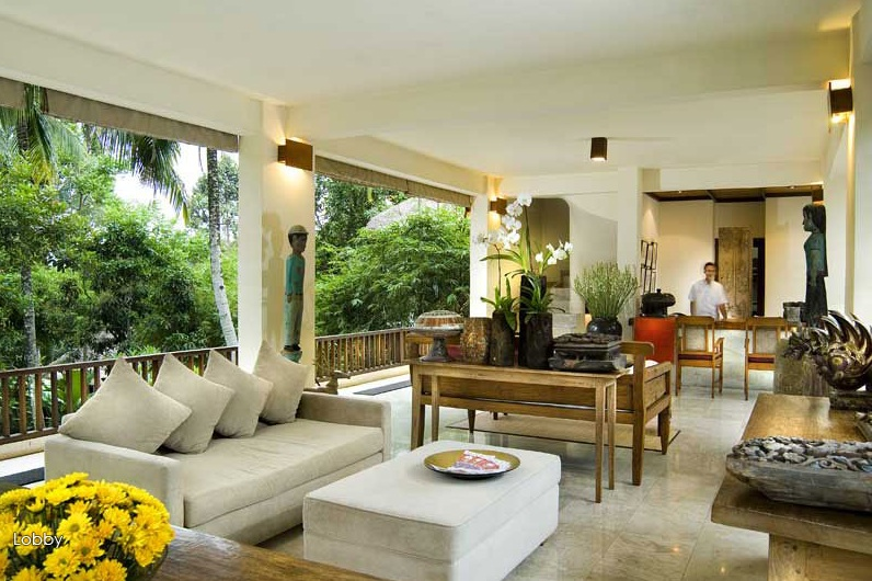 Natural modern interiors komaneka tanggayuda ubud bali - Balinese home decorating ideas ...
