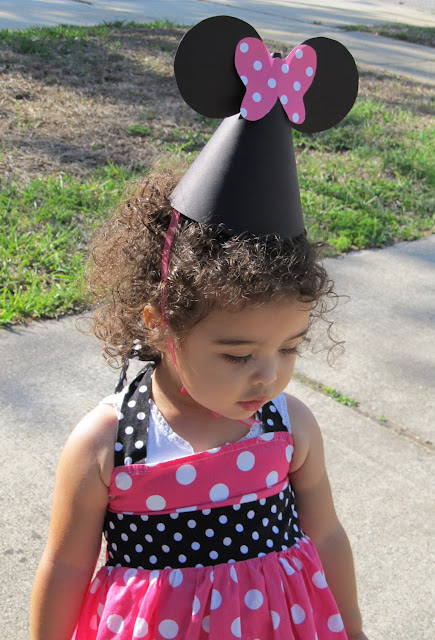 Diy Tutorial From A Catch My Party Member How To Make Minnie Mouse
