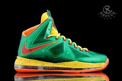 nike lebron 10 cs price is right 1 01 Nike LeBron X Price Is Right by Revive Customs