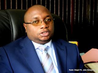 Ministre de la Santé publique, M. Félix KABANGE NUMBI MUKWAMPA. Radio Okapi/ Ph. John Bompengo