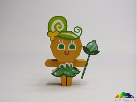 Fairy Cookie Papercraft