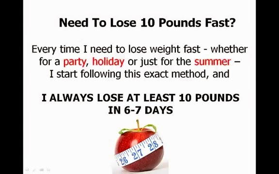 Dr OZ Shows 10 Day Diet To Lose 10 Pounds For Free