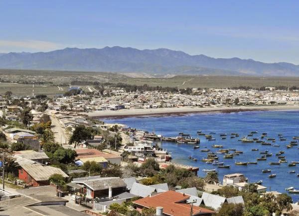 Playas de Coquimbo cuarta region Chiñe Totoralillo Las Tacas ...