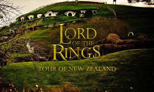 Lord of the Rings tour in New Zealand