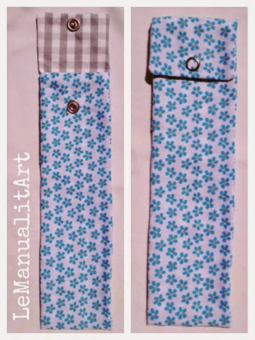 costura veraniega: funda abanico de tela