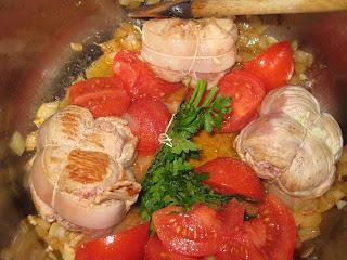Paupiettes de veau brais es aux tomates allo maman - Comment cuisiner les paupiettes de veau ...