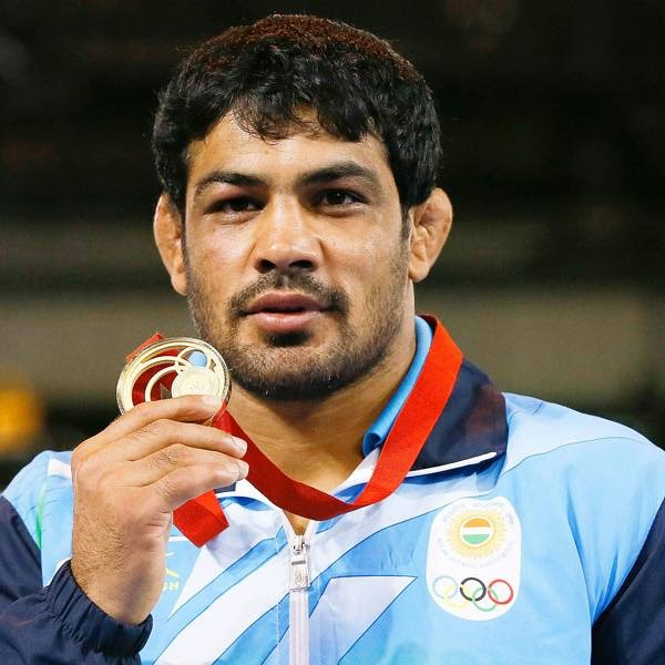 Sushil, who has Olympic bronze and silver medals, took just 107 seconds to beat Pakistan's Qamar Abbas to win the gold medal in the men's freestyle 74kg category wrestling final.
