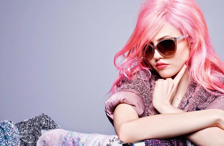 Chanel Eyewear, campaña OI 2014: Charlotte Free