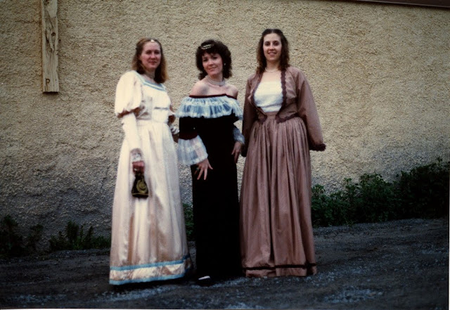 3 maids from Medieval times