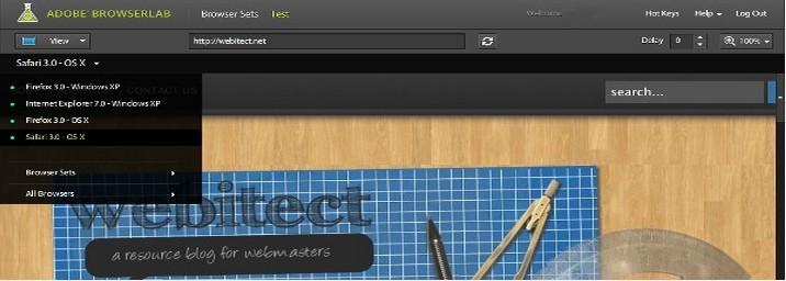 Trình duyệt Adobe Labs
