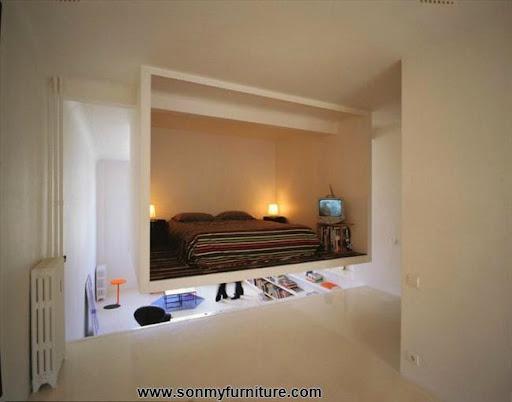 Thiết kế nội thất phòng ngủ cho nhà chật_CONG TY NOI THAT-3