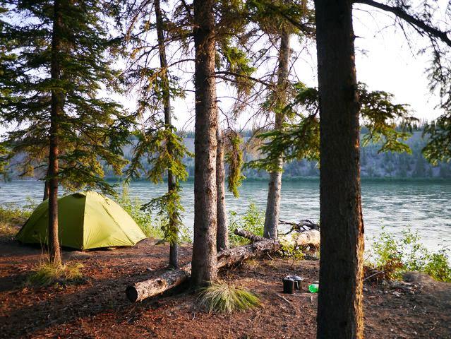 達人帶路-環遊世界-育空河露營