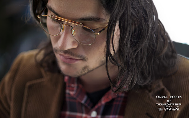 The soloist and oliver peoples eyewear collection resort for Oliver peoples tokyo