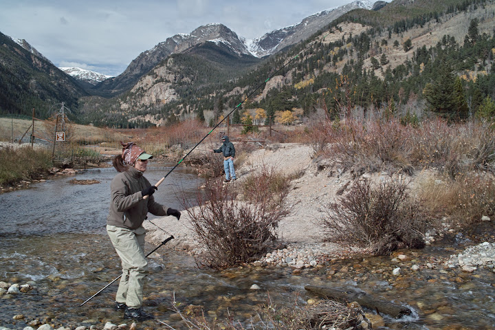Tenkara in Rocky Mountain National Park